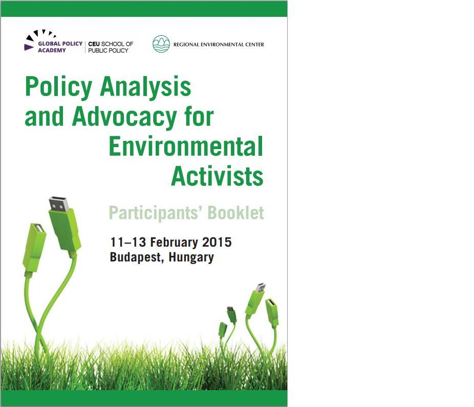 An analysis of environmental activism