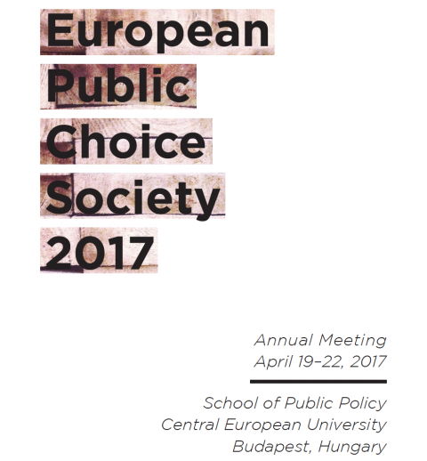 public choice society annual meeting Check out who is attending exhibiting speaking schedule & agenda reviews timing entry ticket fees 2015 edition of european public choice society annual meeting will be held at the faculty of economics, groningen starting on 07th april.