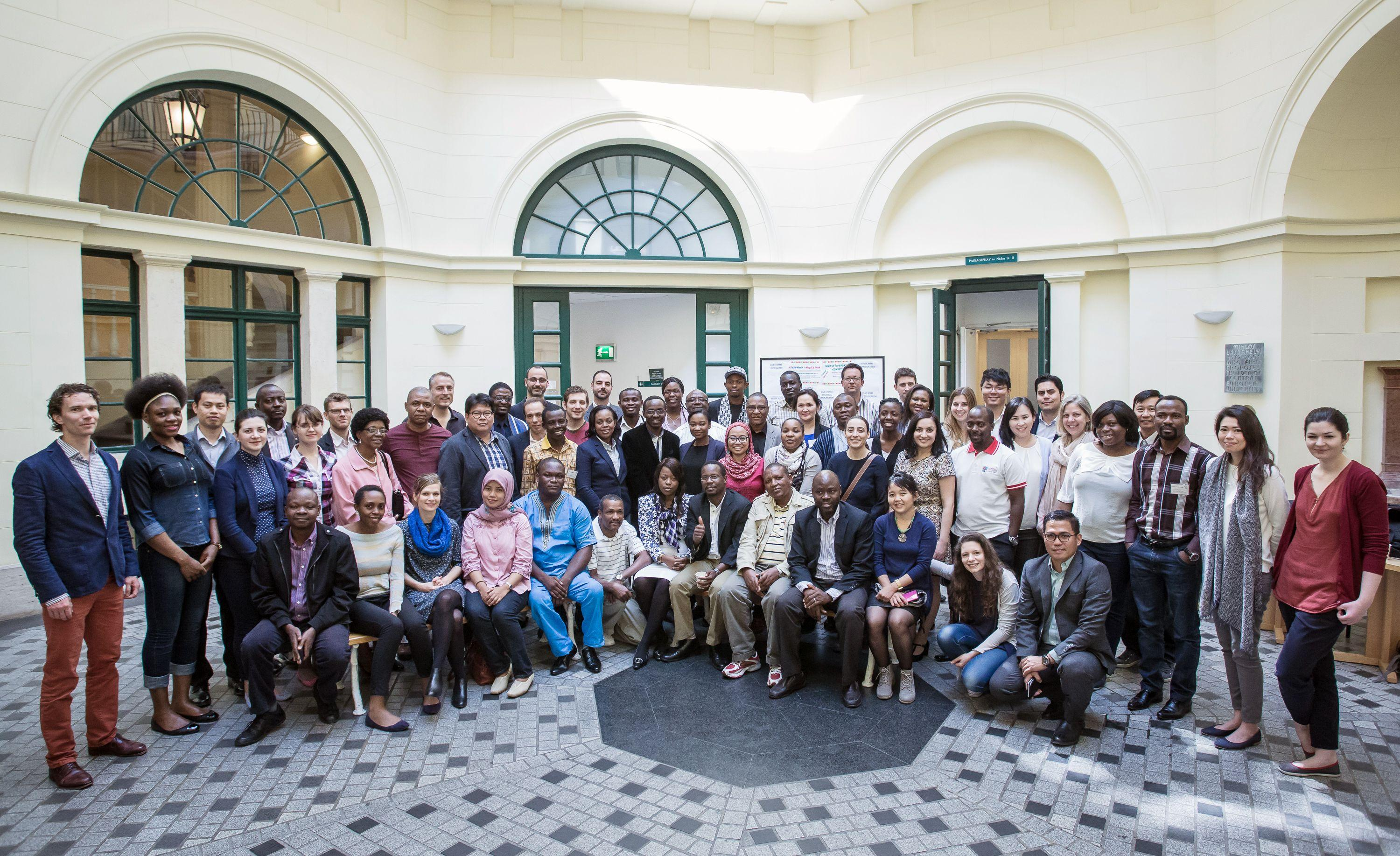 Participants from the course in 2015. Photo: SPP/Attila Nagy