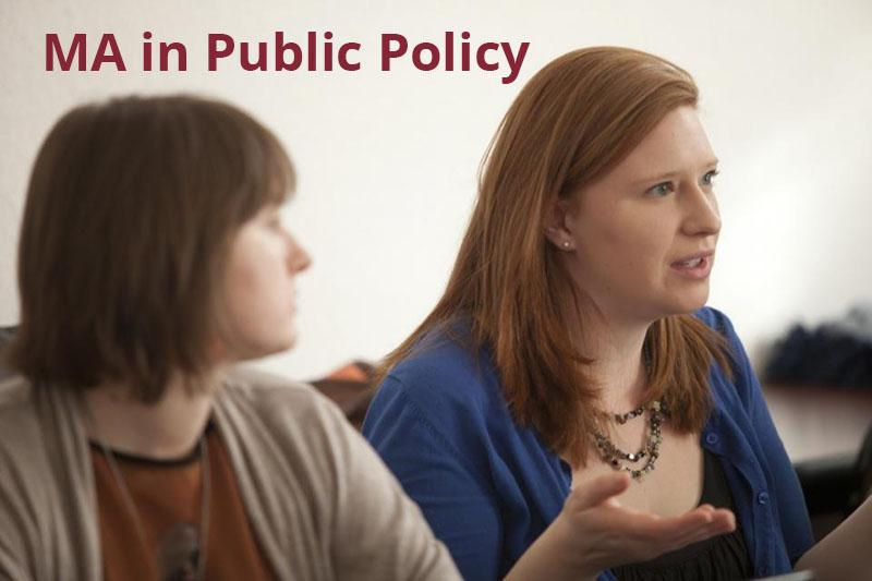 MA in Public Policy
